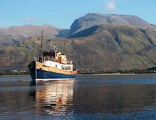 Loch Linnhe with the backdrop of Ben Nevis