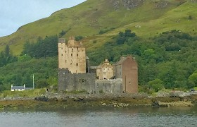 Eilean Donan Castle by Robert Christie