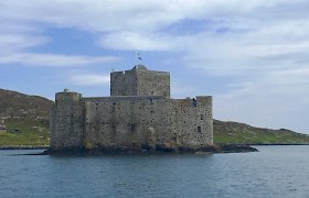 Kisimul Castle by Robert Christie