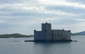 Kisimul Castle, Castlebay, Barra by Robert Christie