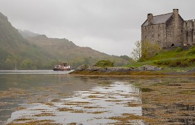 Glen Massan at Eilean Donan Castle